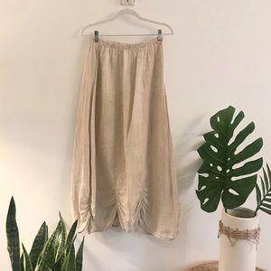 Bodi Boho Washable linen skirt